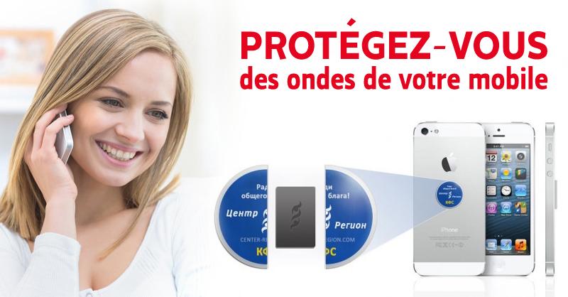 Protégez-vous des ondes de votre mobile